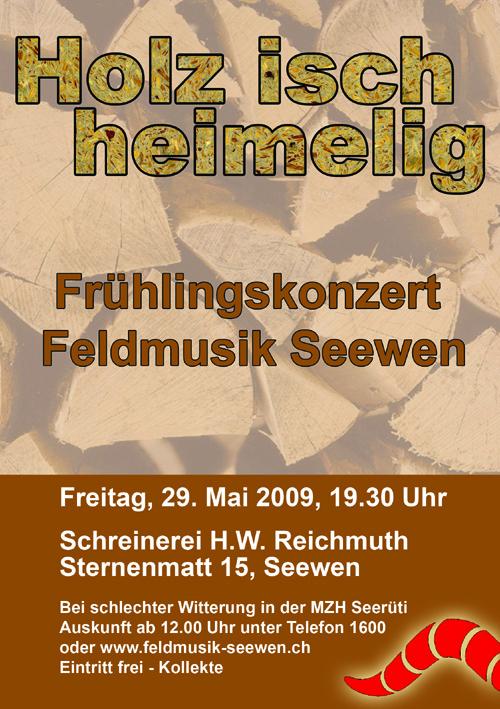 Frühlingskonzert Feldmusik Seewen