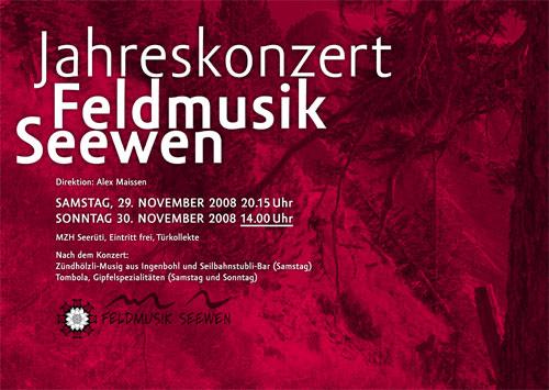 Jahreskonzert Feldmusik Seewen